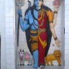 Shiv Parvati Murti Picture From Achleshwar Mandir, Batala