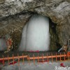 Darshan of Holy Shiva Lingam at Amarnath Temple