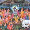 About Krishna and Govardhan Parvat Pictures, Photos, wallpapers, images