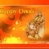 Diwali Greetings Goddess Lakshmi with Lord Ganesha Picture, Wallpapers