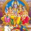 Lord Shiva Family – Shiv Parvati Family Photos, Images