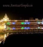 Night Pictures of Golden Temple