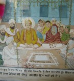 Guru Nanak Dev ji Marriage Pictures with Mata Sulakhni Ji