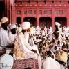 Maharaj Sawan Singh ji giving satsang Photo Dera Beas