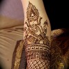 Lord Ganesha Photos in Mehendi