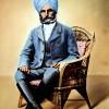 Maharaj Sawan Singh Picture During Service