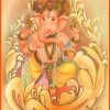 Painting Photos of Lord Ganesha