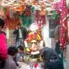 Shiv Linga Shingar Photo at Shivala Bagh Bhayian Mandir Amritsar
