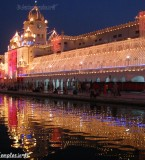 Golden Temple Night Photos