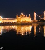 Darbar Sahib Night View Pictures