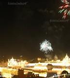 Beautiful AtishBazi Pictures of Golden Temple | Darbar Sahib