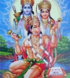 Lord Rama,Mata Sita and Hanuman images
