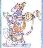 Bhagwan Shri Hanuman Drawing Pictures