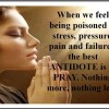 When we fell being poisoned by Stress, Pressure – Daily Good Thoughts (Suvichar)
