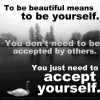 You just need to accept yourself – Daily Good Thoughts (Suvichar)