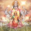 Lord Vishnu and Goddess Lakshmi Pictures, Photos, Images, Wallpapers