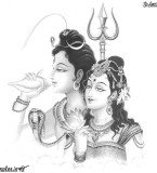 Lord Shiva and Mata Parvati Beautiful Pictures Download