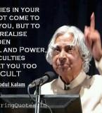 Abdul Kalam Motivational Thoughts – Suvichar