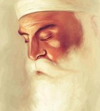 Guru Nanak Dev ji Drawing Wallpaper