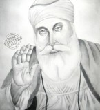 Sri Guru Nanak Dev ji Sketch Drawings Photos