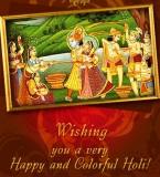 Happy Holi Radha Krishna Photos – Hindu God Holi Greetings Pictures