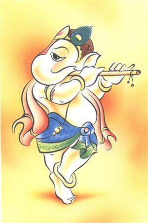 painting ganesha (5)