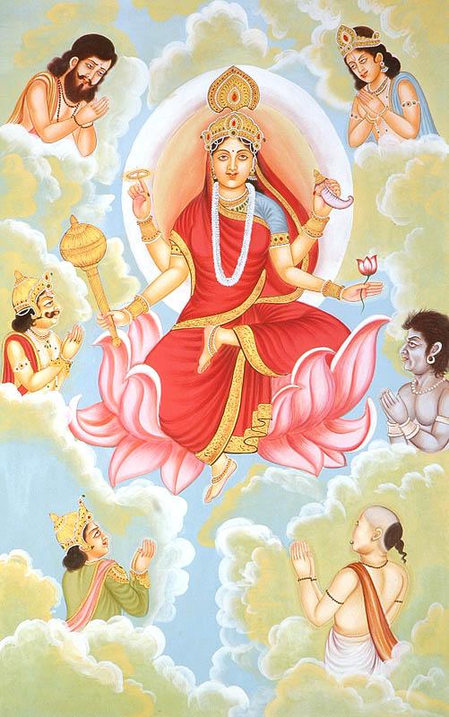 siddhidatri_navadurga_the_nine_forms_of_goddess