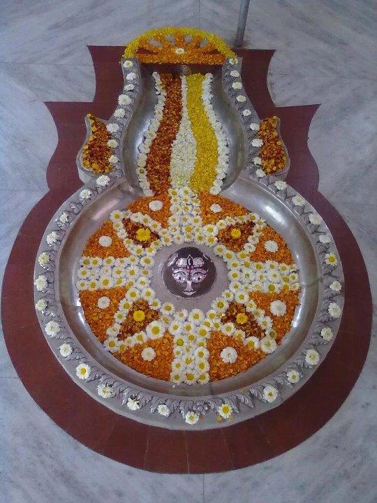 Shri Markandeshwar Mahadev Shiva Lingam Shingar Photographs Shahabad Markanda Distt Kurukshetra (Haryana)