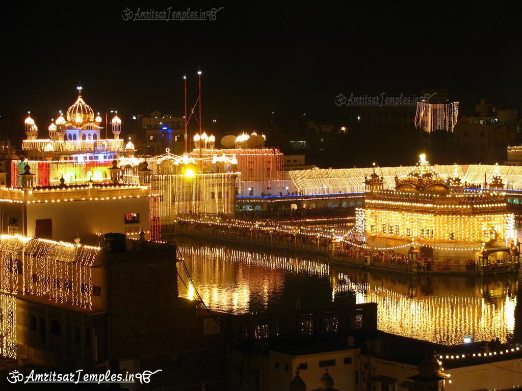 Beautiful night photos of darbar sahib harmandir sahib for Golden night