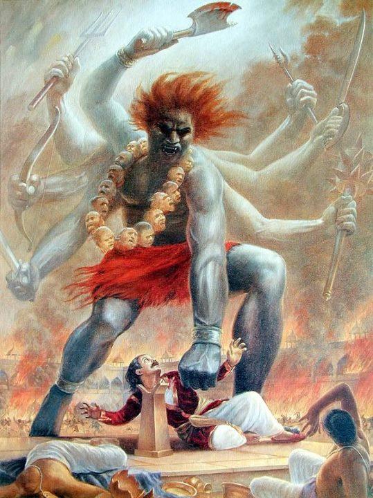 Veerbhadra Avatar of Lord Shiva Photos