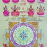 shri ashta lakshmi yantra pictures