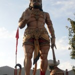 Shri Hanuman Big Murti Images at Devi Talab Mandir Pictures,Photos
