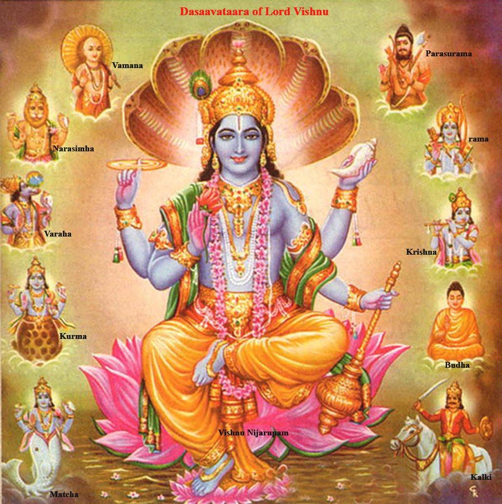 Gods Wallpaper: Dasavatar Wallpaper Lord Vishnu Pictures, Photos, Images