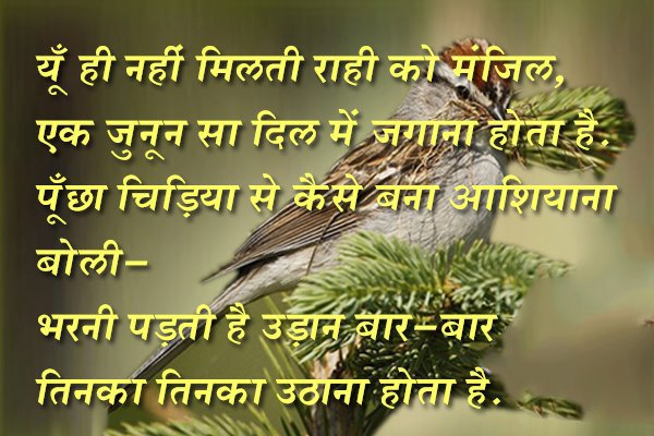 ... best thought in hindi quotes on success with images in hindi thoughts