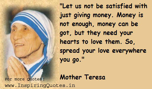 Mother Teresa Quotes  New Quotes