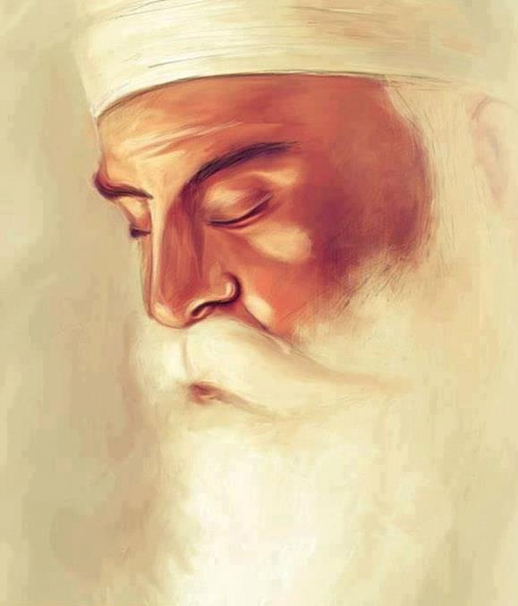 Guru Nanak Dev Beautiful Drawing Pictures