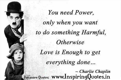 Nice love thoughts charlie chaplin image wallpapers photos - Love wallpaper thought in hindi ...