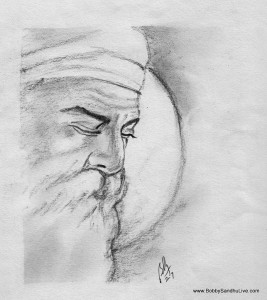 Art Guru Nanak Dev Ji Drawing Easy
