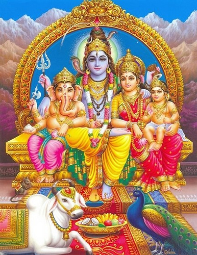 Lord Shiva Parvati Family Images Wallpapers Photos Download