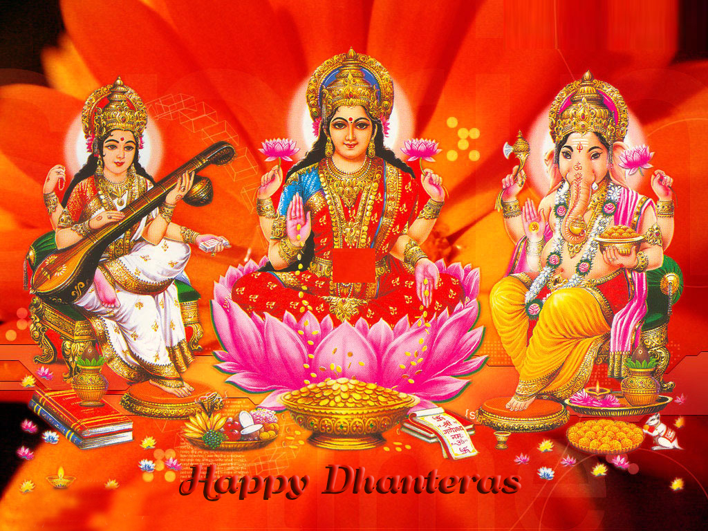 Happy Dhanteras Laxmi Images, Wallpapers, Photos, Pictures, Download