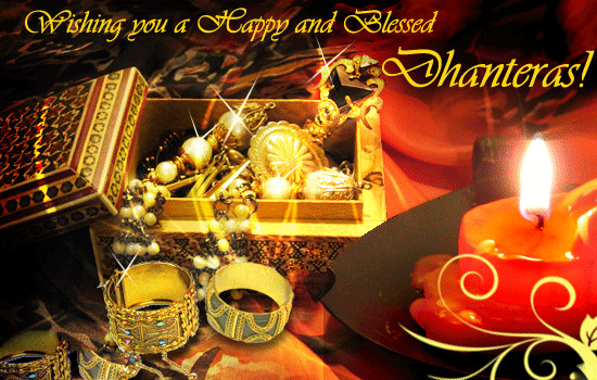 Happy and Blessed Dhanteras Images, Wallpapers, Photos, Pictures Download with Messages, SMS